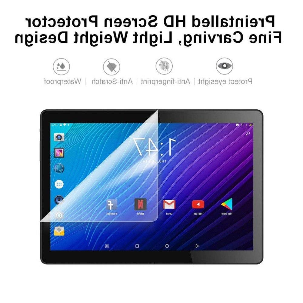2019 New 2.5D Tempered Glass <font><b>inch</b></font> Core 4G FDD LTE RAM ROM 9.0 Tablet <font><b>10</b></font>.1+Gifts