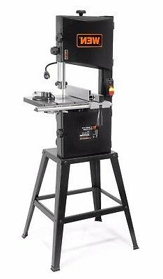 WEN 3962 10-Inch Two-Speed Band Saw with Stand and Worklight