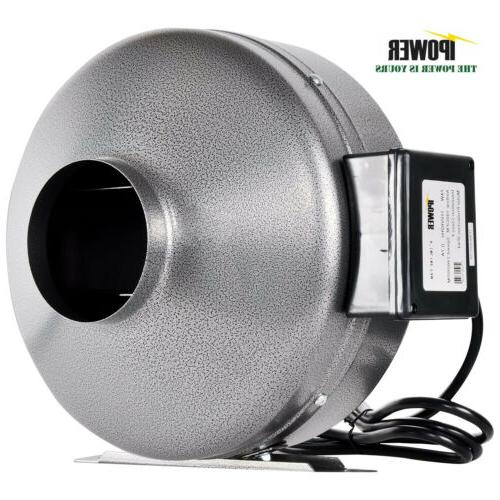 "iPower 4"" 6"" 8"" 10"" 12"" Inch Inline Duct Fan Exhaust Blower"