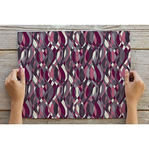 ArtzFolio Abstract Grunge Table Mat Placemat Single