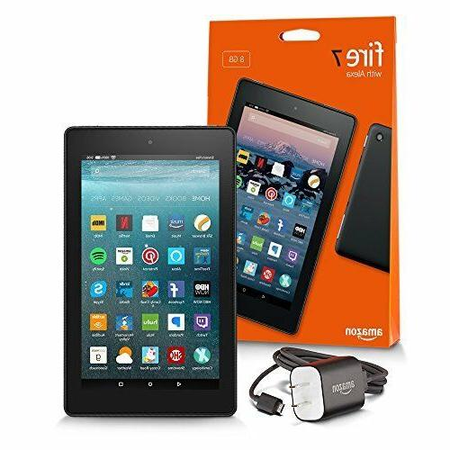 All-New Fire 7 Tablet with Alexa, 8/16 GB WiFi - BEST