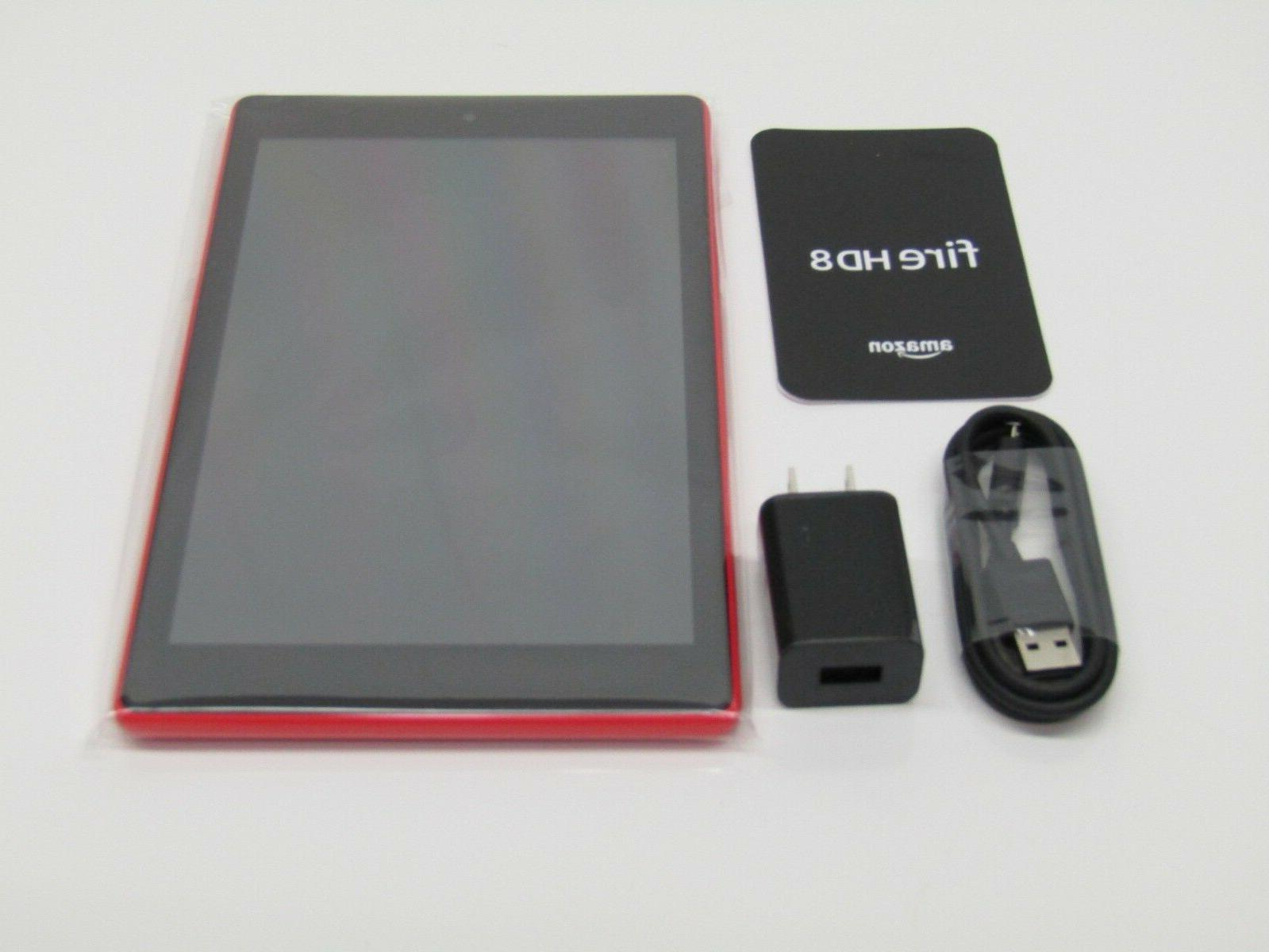All-New 8 Tablet HD 16 GB Red with Special