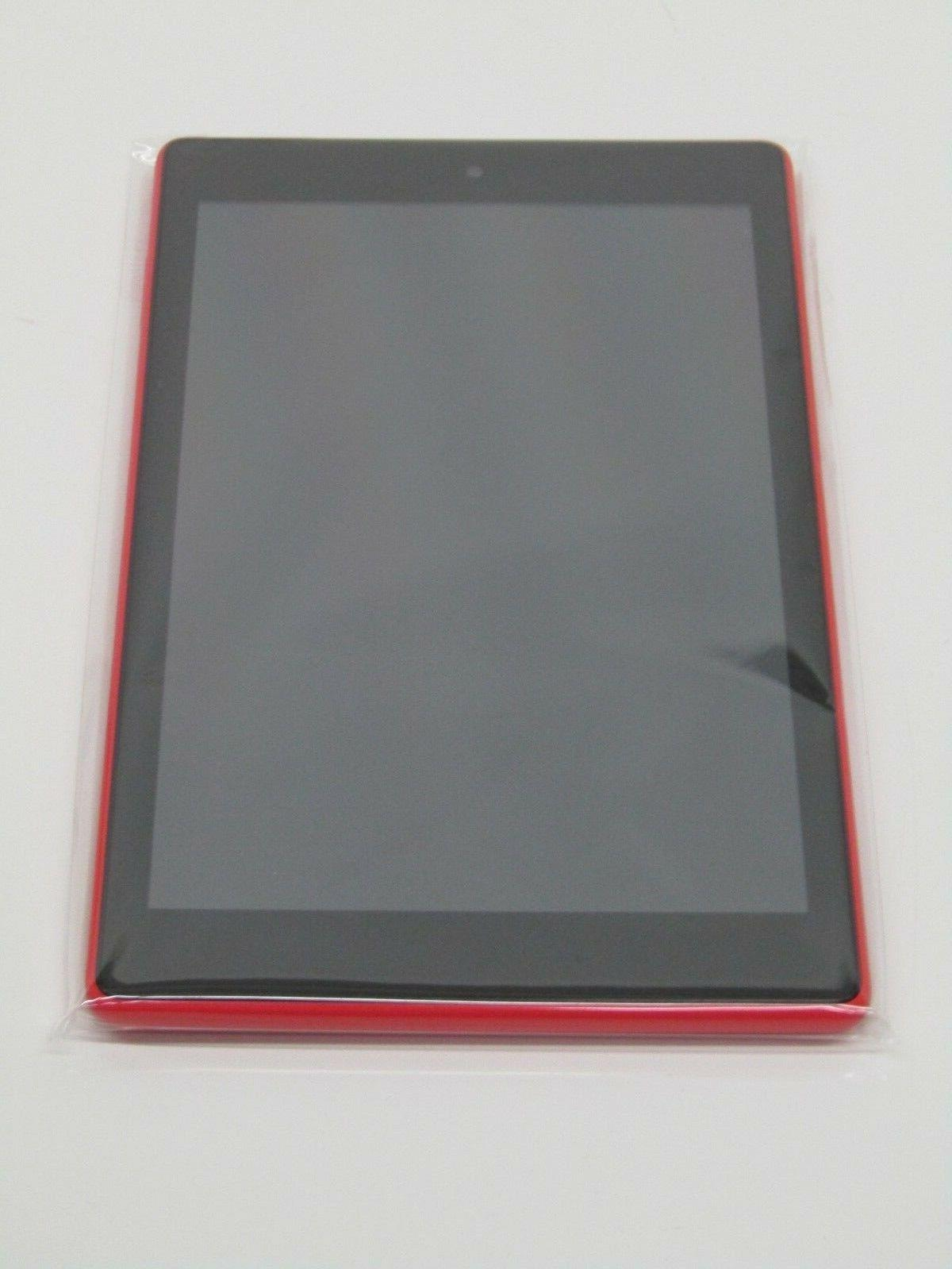 "All-New HD Tablet 8"" HD Display 16 GB Punch Red with Special"