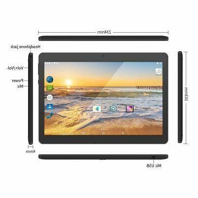 Android 7.0 Nougat Inch Tablet Sim Card Core
