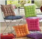 Brush Microfiber Dining Office Chair Cushion Pad Protector 1