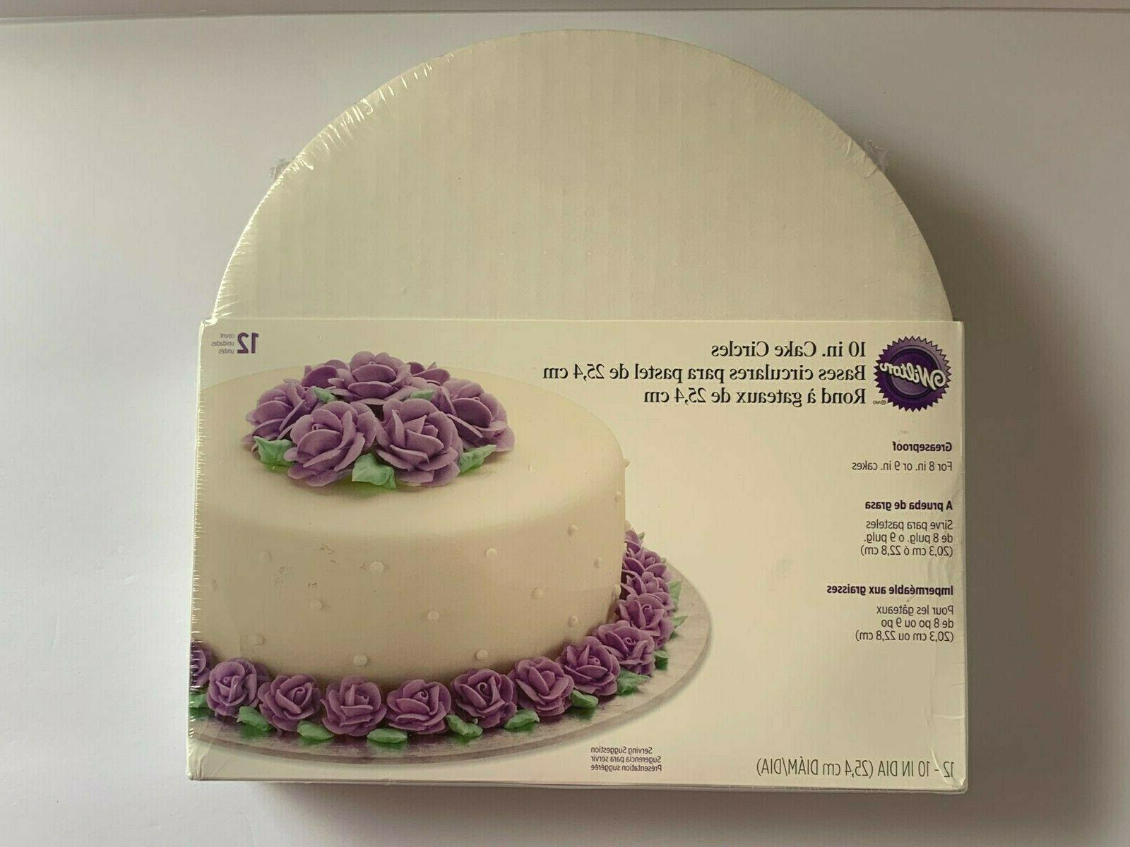 cake circles bottom layer round