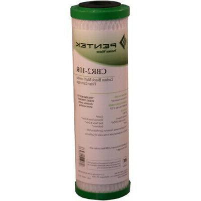 Pentek Cbr2-10r Carbon Block Multi-media Filter Cartridge