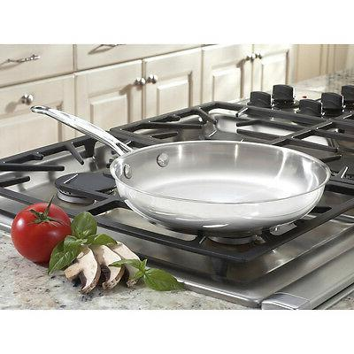 Cuisinart Chef's Stainless Inch Stainless Fry Pan Kitchen