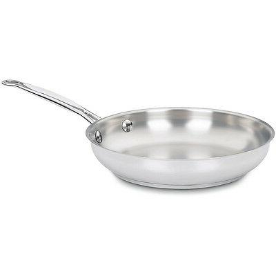 Inch Skillet Stainless Steel Fry Pan Kitchen