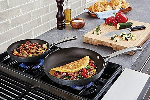 Calphalon 1943286 Classic Omelet Fry with Cover, 10 Inch,