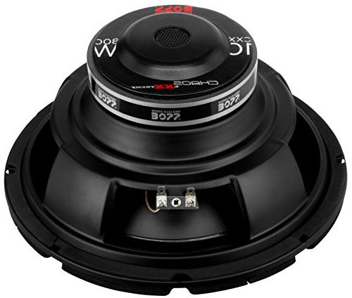 Boss Audio CXX10 800 Watt, 10 Inch, Single 4 Ohm Voice Coil Car Subwoofer