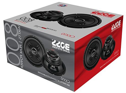 Boss 800 Watt, Inch, Single 4 Coil Car Subwoofer