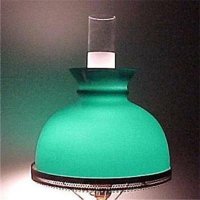 Green Cased Glass inch Student Lamp Desk Table Wall