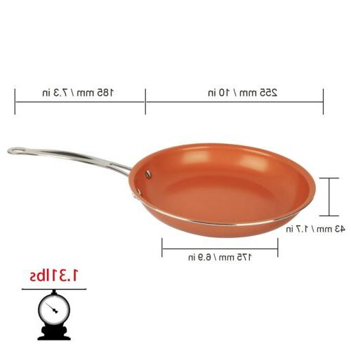 Healthy Non Stick Ceramic Copper Frying Bottom