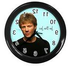 JON BON JOVI 10 inch 25cm COLLECTIBLE WALL CLOCK 98928351