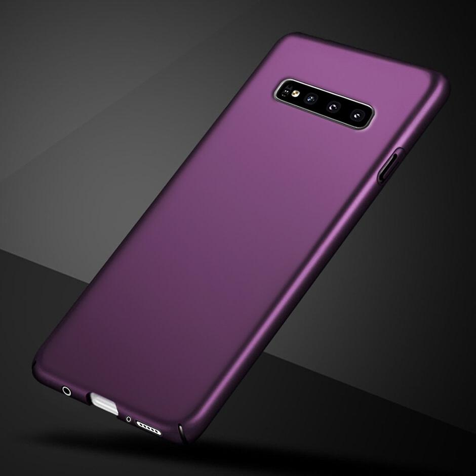 luxury frosted case for samsung s10 plus