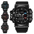 SMAEL Military Men 3D Big Dial Waterproof Rubber Sport Analo
