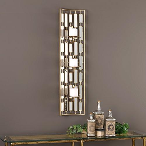 Uttermost Mirrored Sconce, One Size - Metallic