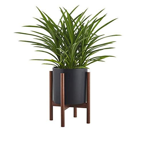 FaithLand Pot inch - Perfectly Mid-Century - Drainage - Matte