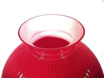 Red Cased Glass 10 inch Shade Haning Kitchen