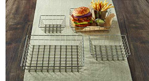 """Wire Grid Stainless Steel, 10"""""""