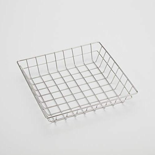 sqgs10 square wire grid basket