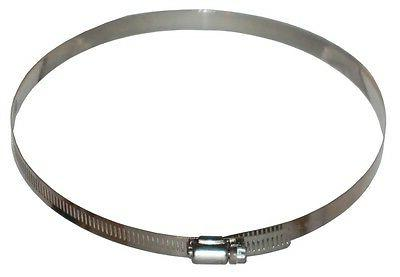 stainless flex duct clamps 4 inch 6