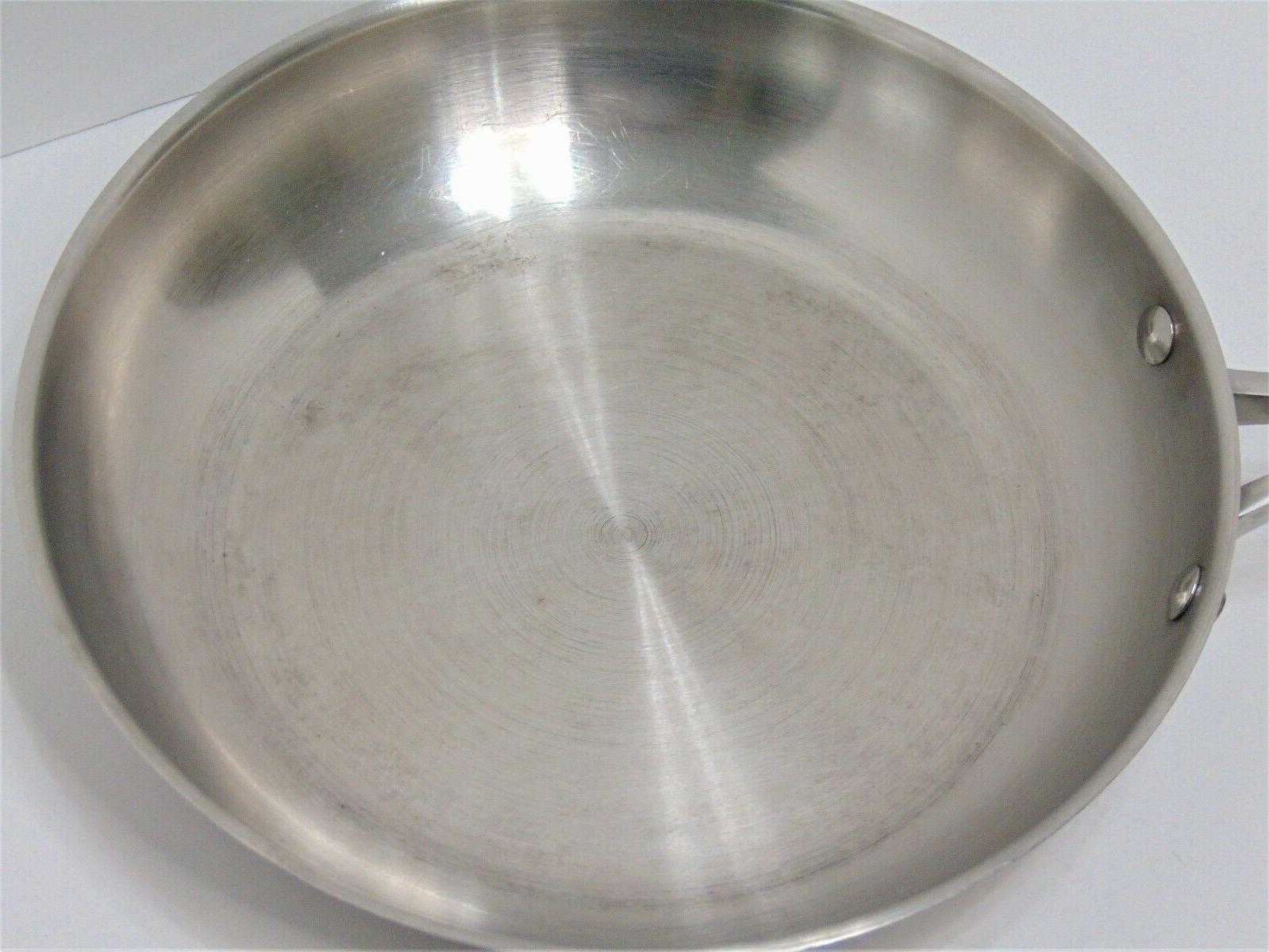 Calphalon Stainless Steel 10 inch Ply Fry 1390
