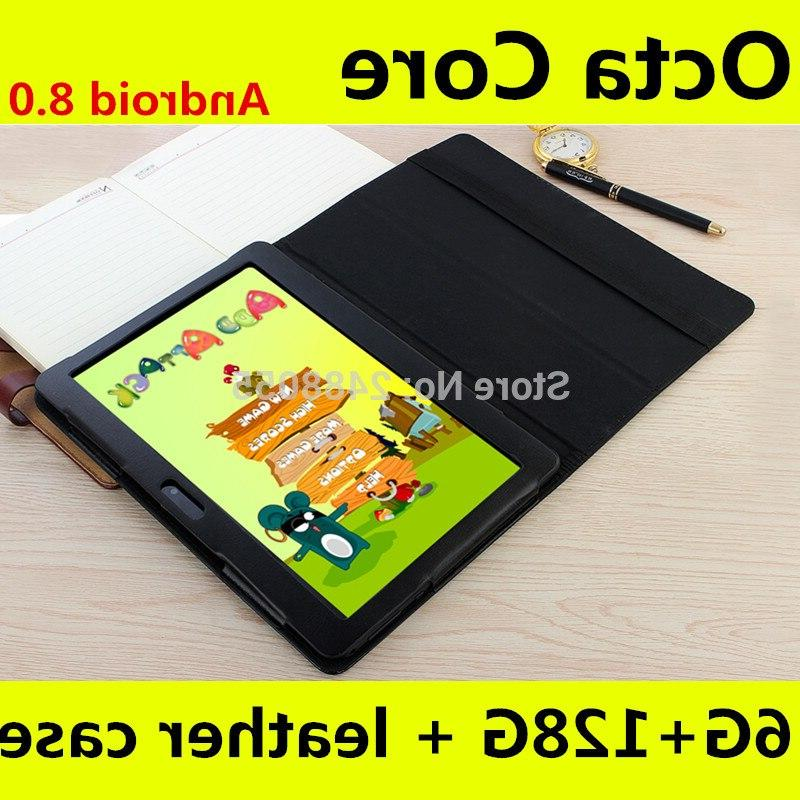 Super Tempered tablet Core 6GB 128GB ROM 8 IPS <font><b>10</b></font>.1 + Gift