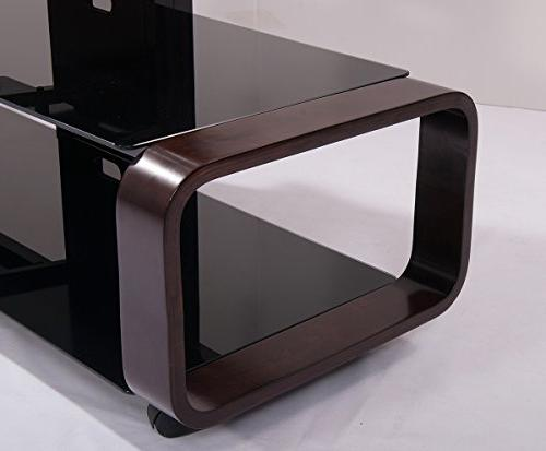 TransDeco TD685ES TV for TV, Espresso/Black