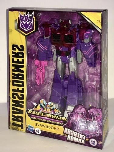 transformers shockwave cyberverse ultimate class action figu