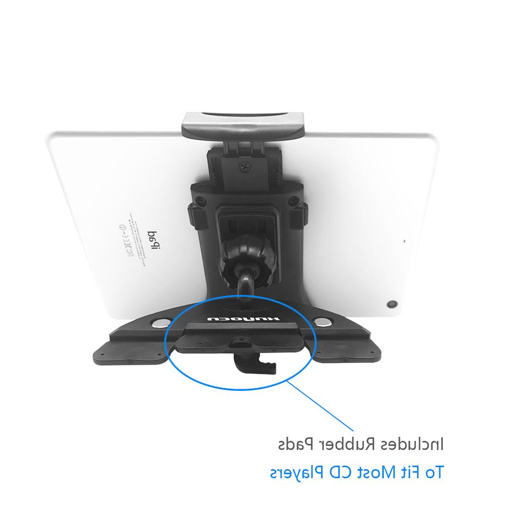 "Universal 7 8 9 10"" <font><b>car</b></font> holder Auto CD <font><b>Mount</b></font> Tablet PC Stand for 3 Air 1 2 Tablet <font><b>Car</b></font> holder"