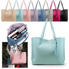 Women Synthetic Leather Handbag Shoulder Ladies Purse Messen