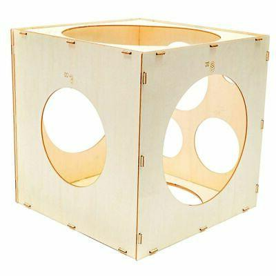 Wood Balloon Sizer Cube Party, 9