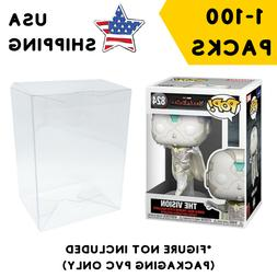 """Lot 5 20 60 100 Collectibles Funko Pop Protector Case for 4"""""""