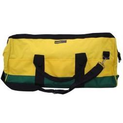 "BON 41-109 MASON TOOL BAG GREEN/GOLD 24"" X 10"" X 11"""