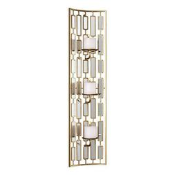 Uttermost Mirrored Candleholder Wall Sconce, Size One Size -