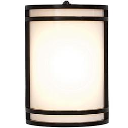 "Modern Outdoor Wall Sconce | 10"" Clean Line Exterior Light 