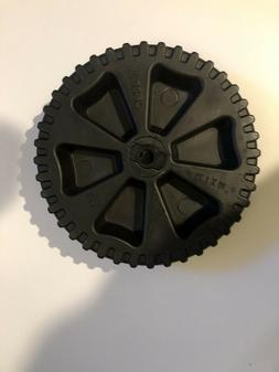 """NEW Toter Wheel 10 inch Plastic Trash Can Replacement 10"""" x"""