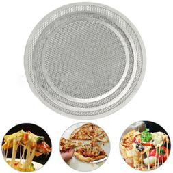 New Oven Net Cookware Flat Baking Tray Aluminium Mesh Pizza