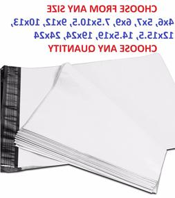 POLY MAILERS Shipping Envelopes Self Sealing Plastic Mailing