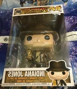 Funko Pop 10 Inch Indiana Jones with Idol #885 Disney Park E