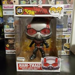 """Funko Pop! Marvel Ant-Man and the Wasp 10"""" Inch Giant-Man #4"""
