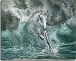 Poseidon's Gift by Kim McElroy - Horse Equine Ceramic Accent