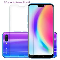 Premium Tempered Glass For Huawei Honor <font><b>10</b></fon