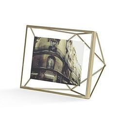 Umbra Prisma 4x6 Picture Frame - Floating Wall or Desk Photo
