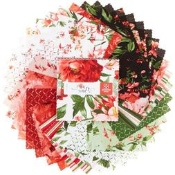 Prose Floral Layer Cake 42 10-inch Squares by Maywood Studio