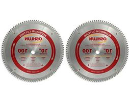 Oshlun SBNF-100100 10-Inch 100 Tooth TCG Saw Blade with 5/8-