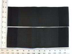 Set 4X10 Inch Replacement Straps Body Armor Elastic BulletPr