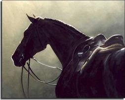 Silhouette by Janet Crawford - Horse Equine Art Ceramic Acce